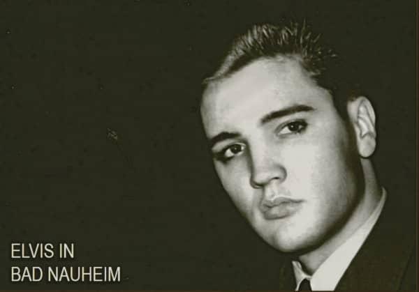 Elvis in Bad Nauheim (Postcard - Postkarte)