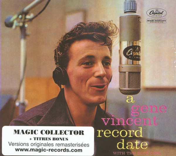 A Gene Vincent Record Date (CD)
