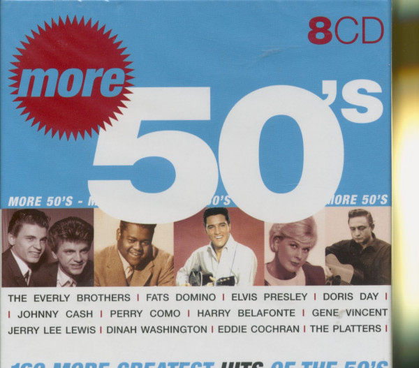 More Greatest of the 50's (8-CD)
