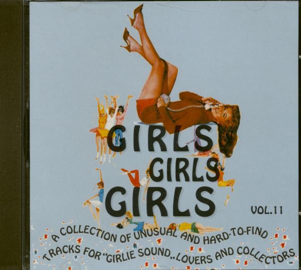 Girls, Girls, Girls Vol.11 (CD)