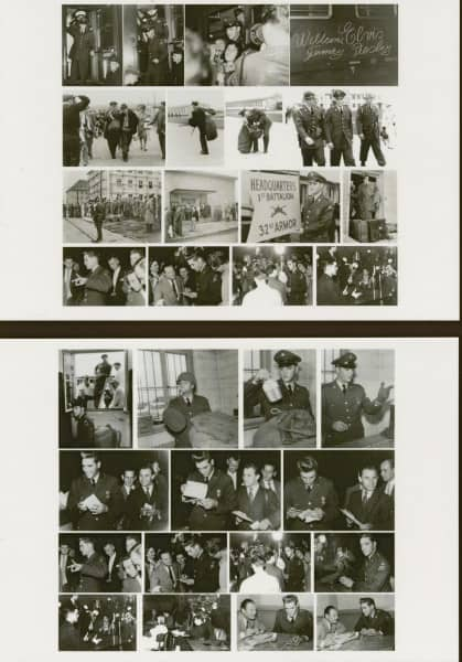 G.I. Elvis Presley (4x Postcards - Postkarten Set)