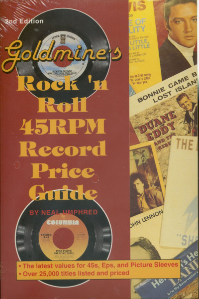 Goldmine's Rock 'n' Roll 45 RPM Record Price Guide by Neal Umphred