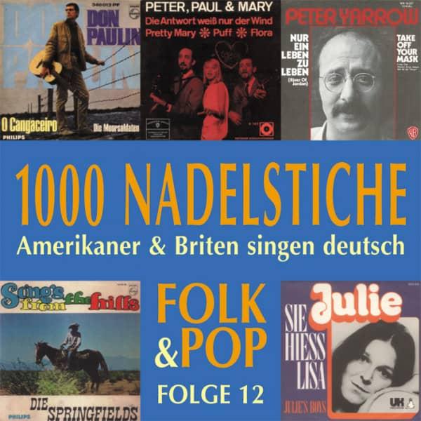 Vol.12, Folk & Pop - Amerikaner & Briten singen deutsch