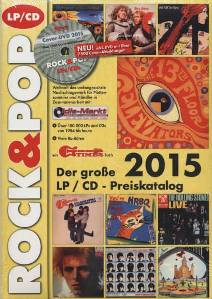 LP & CD Preiskatalog - 2015 Rock & Pop (inkl. DVD)