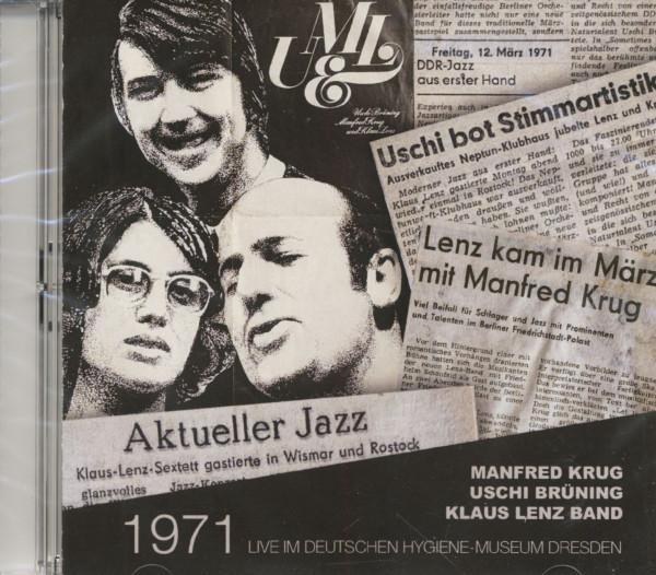 1971 Live Im Deutschen Hygiene-Museum Dresden (2-CD)