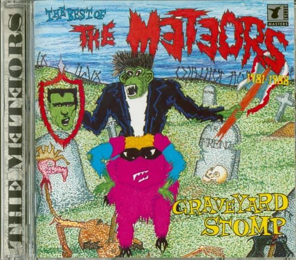 Graveyard Stomp - Best Of The Meteors 1981-88 (CD)