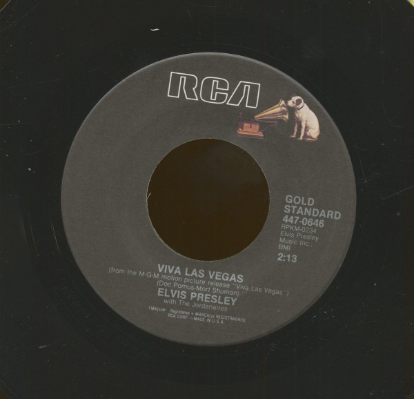 Viva Las Vegas - What'd I Say (7inch, 45rpm)