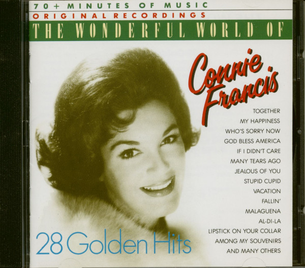 Wonderful World Of Connie Francis - 28 Golden Hits (CD)