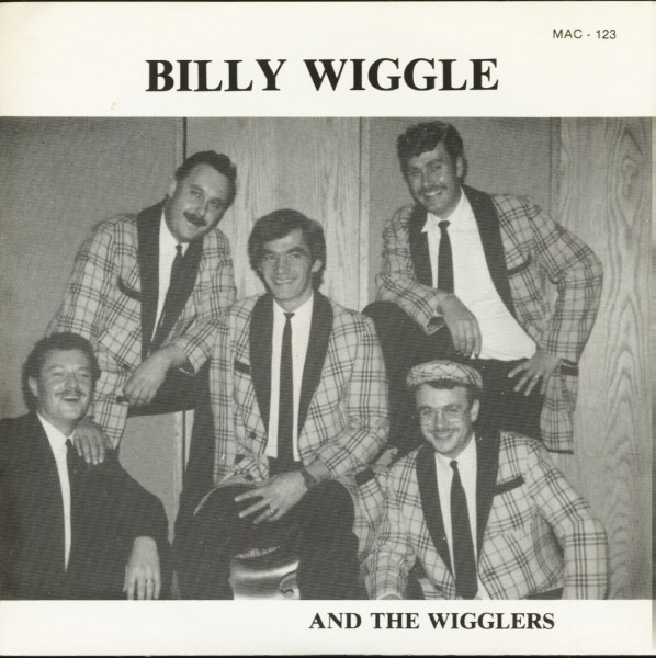 Billy Wiggle And The Wigglers (7inch, 45rpm, PS)