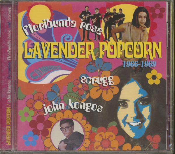 Lavender Popcorn (CD)
