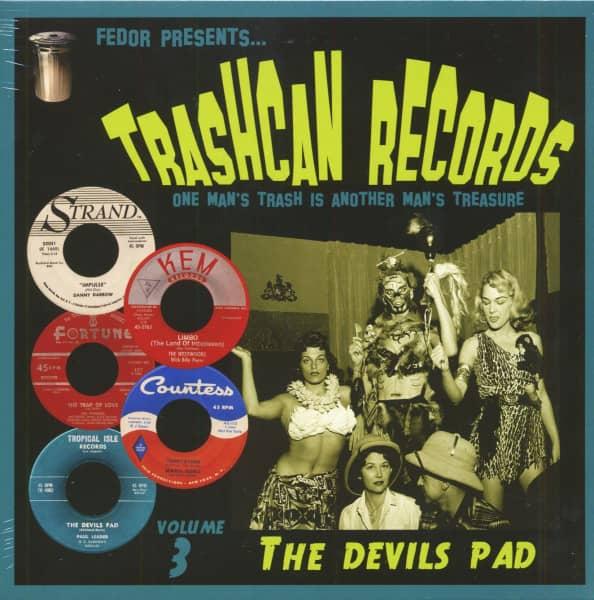 Trashcan Records Vol. 3 - The Devils Pad (LP, 10inch)