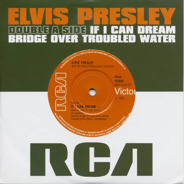If I Can Dream - Bridge Over Troubled Water 7inch, 45rpm, CS, SC