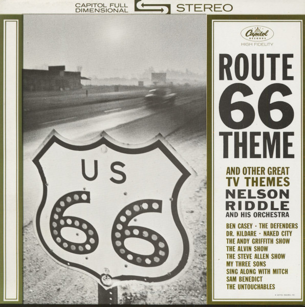 Route 66 And Other T.V. Themes (LP)