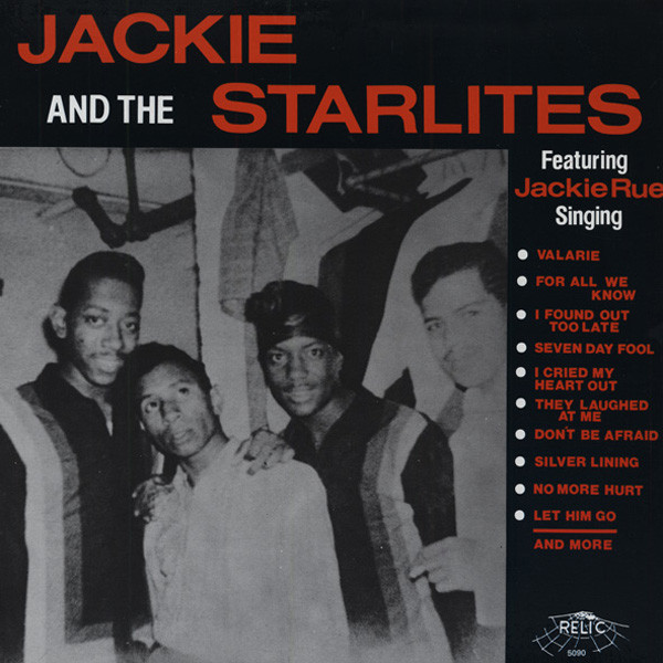Jackie And The Starlites Featuring Jackie Rue (LP)