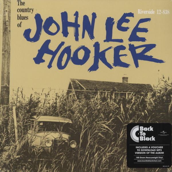 The Country Blues Of John Lee Hooker - 180gr vinyl LP album