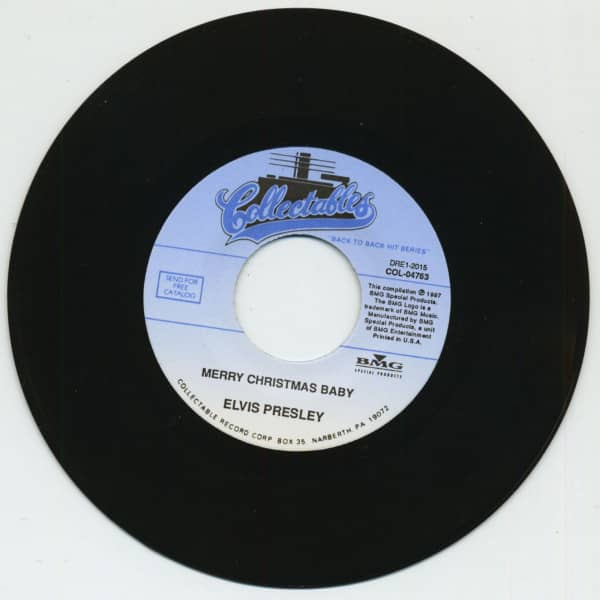 Merry Christmas Baby (7inch, 45rpm)