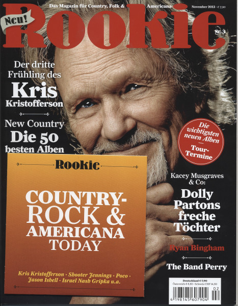 Rookie - Magazin für Country, Folk & Americana (&CD) #3