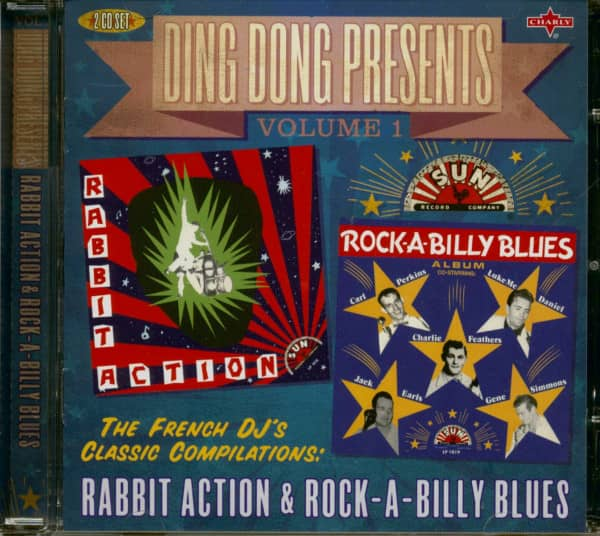 Ding Dong Presents Vol.1: Rabbit Action - Rockabilly Blues (2-CD)