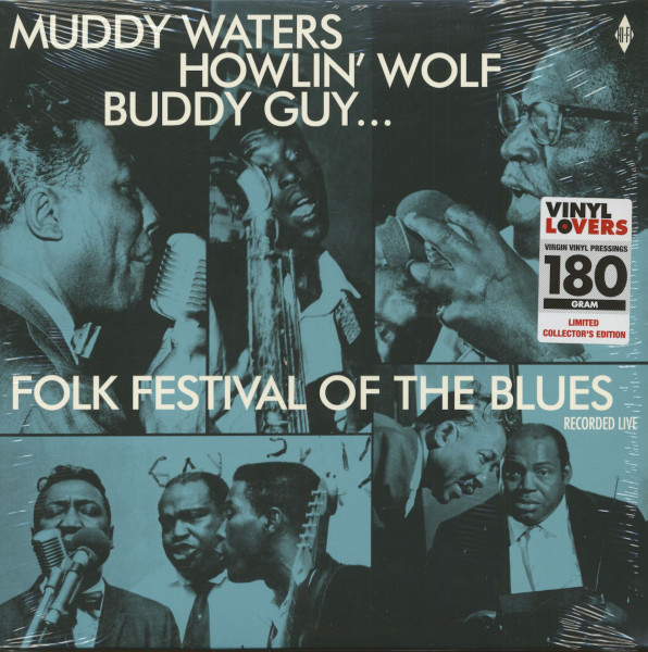 Folk Festival Of The Blues - Recorded Live (LP, 180g Vinyl, Ltd.)