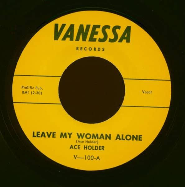 Leave My Woman Alone - Wabba Suzy-Q (7inch, 45rpm)