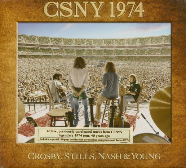 CSNY 1974 (3-CD, DVD, 188 Page Book)