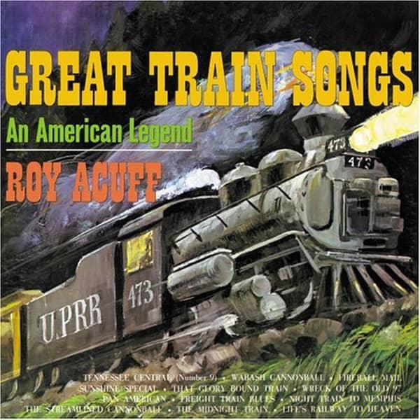 Great Train Songs - An American Legend
