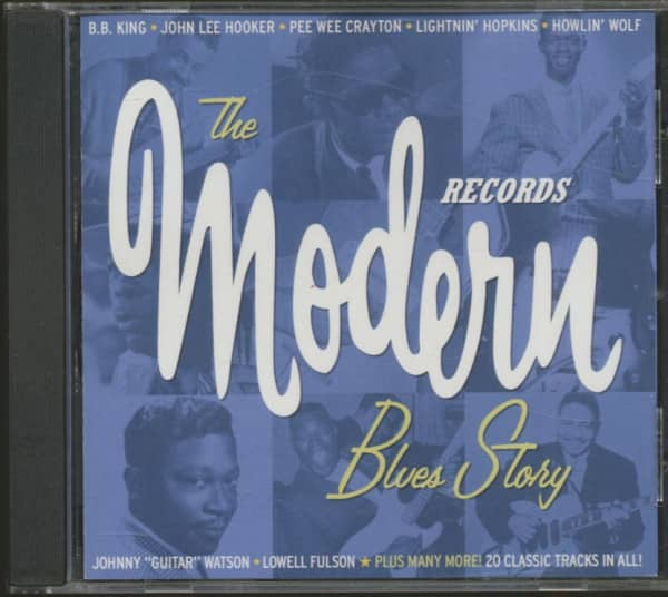 The Modern Records Blues Story (CD)