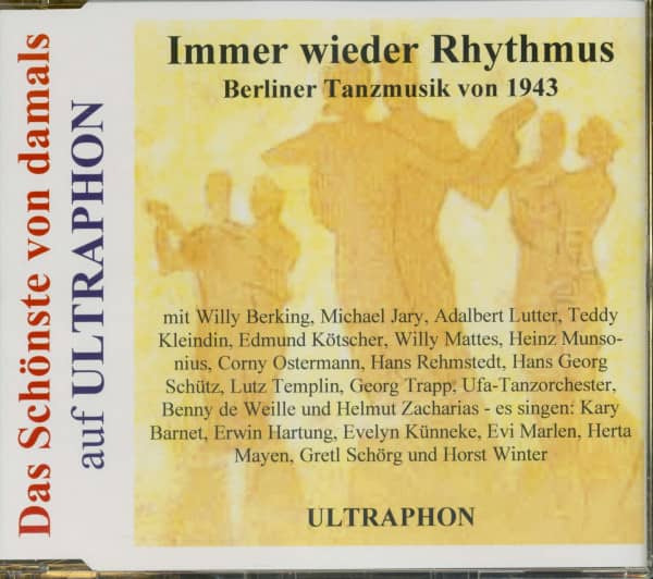Berliner Tanzmusik von 1943 - Das Schönste Von Damals (CD)