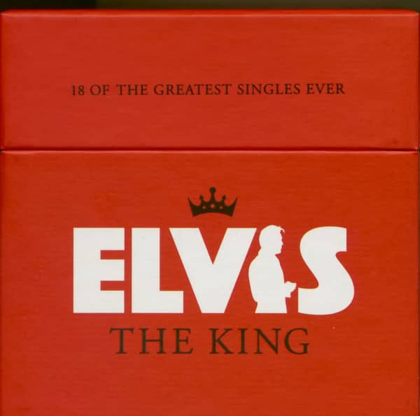 Elvis The King - (18-CD with Picture Sleeves, Box Set, Limited, Numbered)