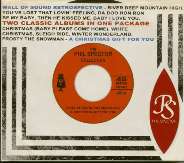 The Phill Spector Collection - Wall Of Sound Retrospective & Christmas Album (2-CD)