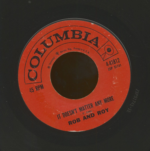It Doesn't Matter Anymore b-w Look Away (7inch, 45rpm)