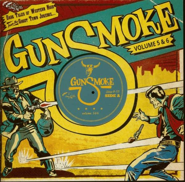 Gunsmoke Vol.5 & 6 - Dark Tales Of Western Noir (CD)