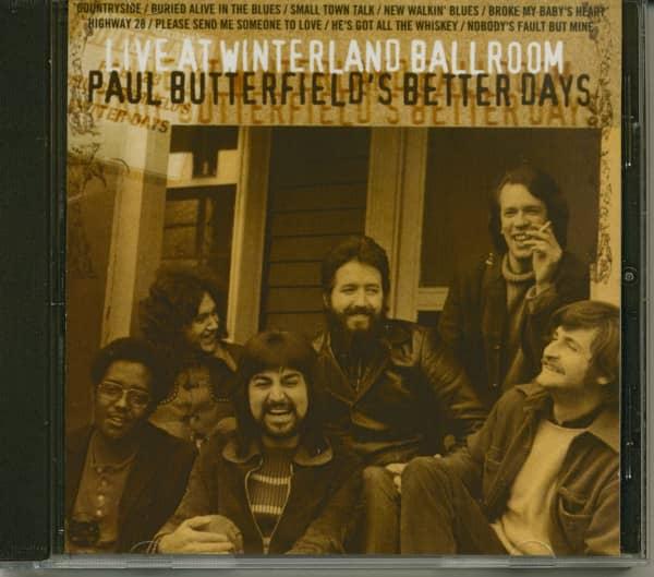 Live at Winterland Ballroom (CD)