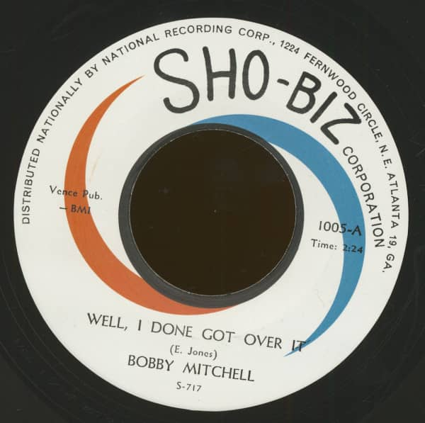 Well, I Done Got Over It - Just Say You Love Me (7inch, 45rpm)