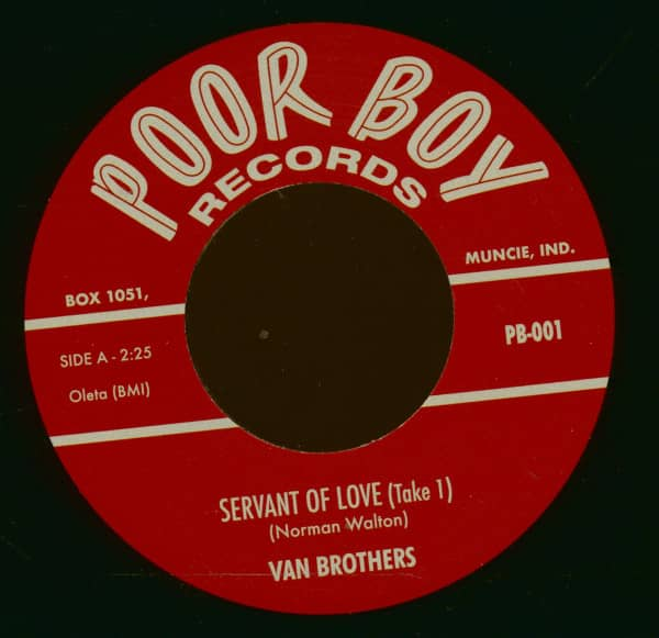Servant Of Love - They Went Around (7inch, 45rpm, BC)
