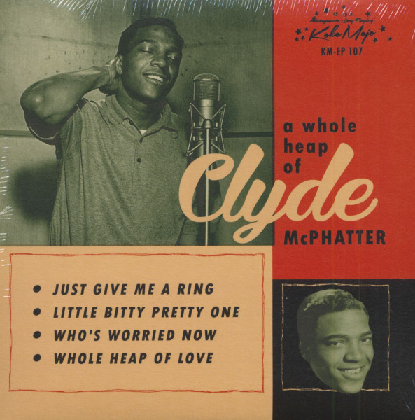 A Whole Heap Of Clyde McPhatter (7inch, EP, 45rpm, PS)