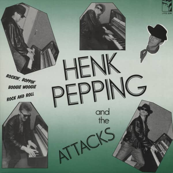 Hank Pepping & The Attacks - Boogie Woogie