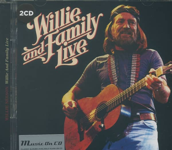 Willie And Family Live (2-CD)