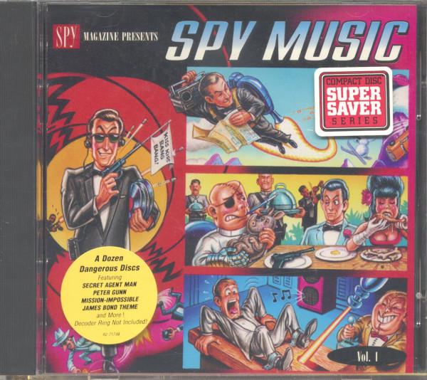 Spy Magazine Presents Vol.1 - Spy Music (CD)