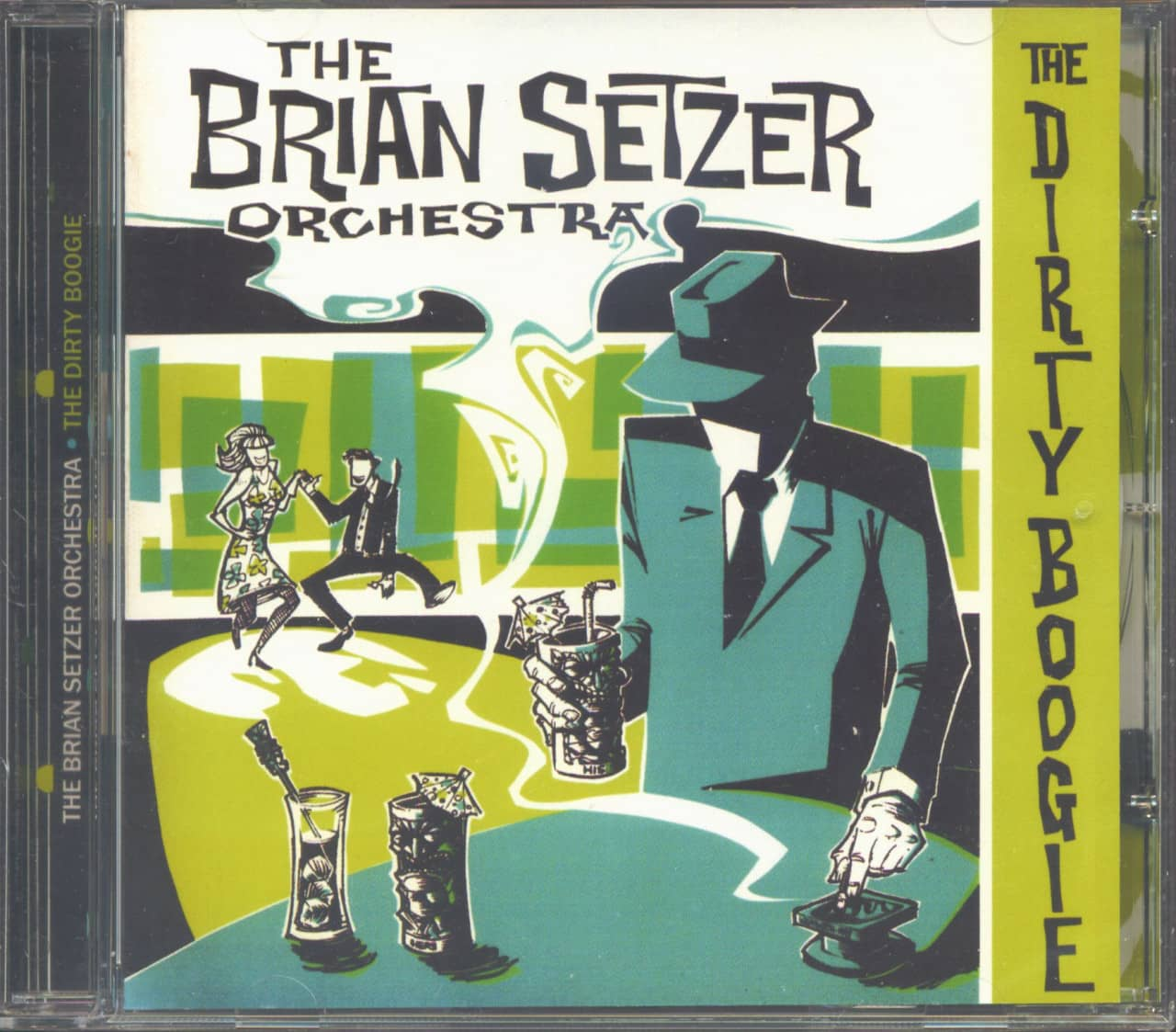Brian Setzer Orchestra - The Dirty Boogie (CD, UK Version)