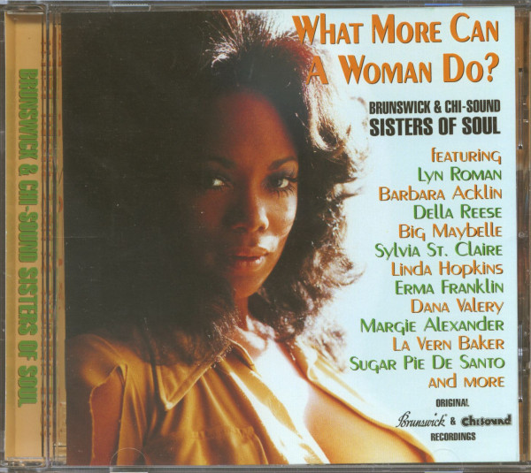 What More Can A Woman Do? - Brunswick & Chi-Sound - Sisters Of Soul (CD)