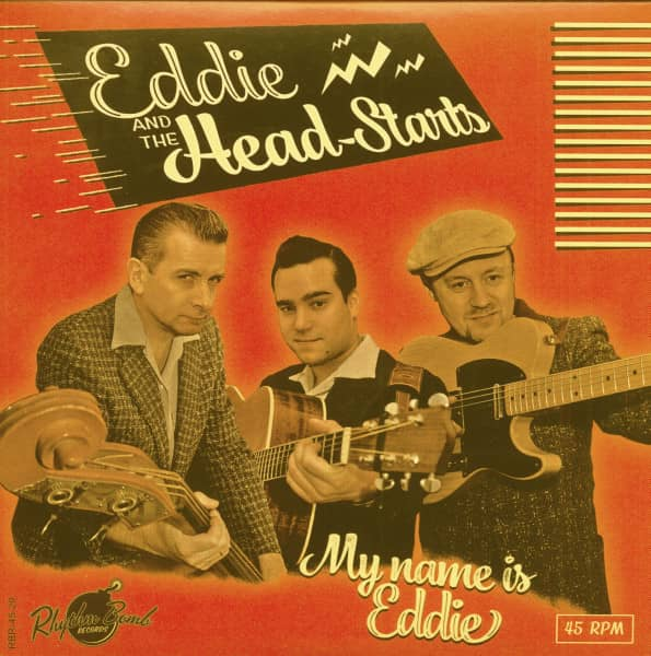 My Name Is Eddie (7inch, EP, 45rpm, PS)