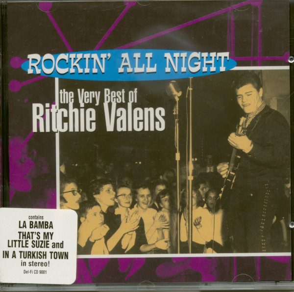 Rockin' All Night - The Very Best Of Ritchie Valens (CD)