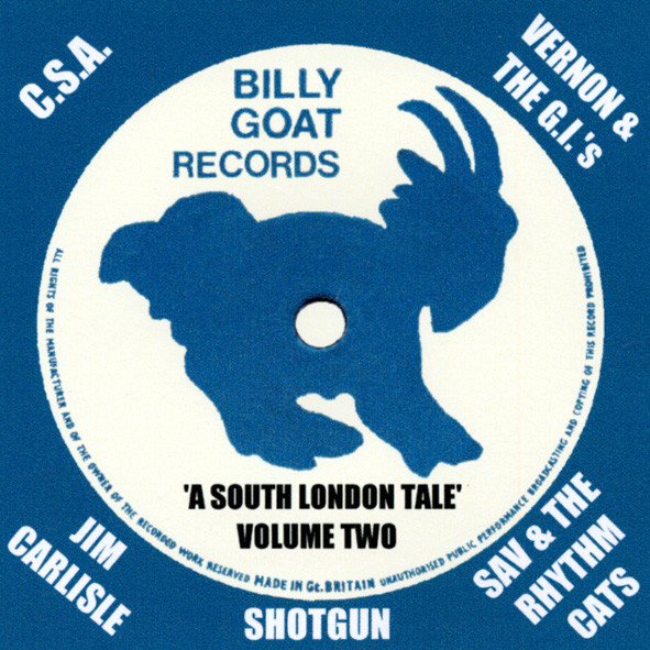 Vol.2, Billy Goat Records - A South London S