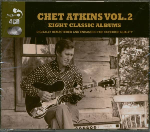 Eight Classic Albums - Chet Atkins Vol.2 (4-CD)