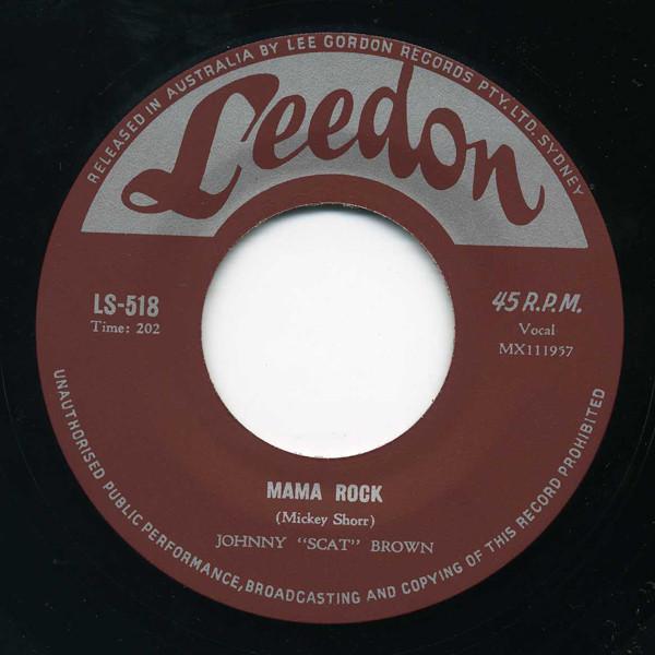 Mama Rock b-w Indeed I Do 7inch, 45rpm