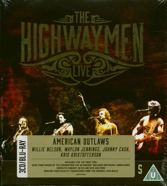 American Outlaws - Live (3-CD, 1-Blu-Ray)