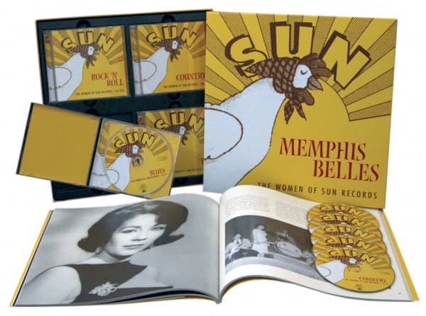 Memphis Belles - The Women Of Sun Records (6-CD Deluxe Box Set)