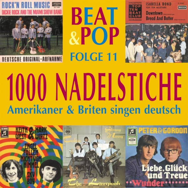 Vol.11, Beat & Pop - Amerikaner & Briten singen deutsch