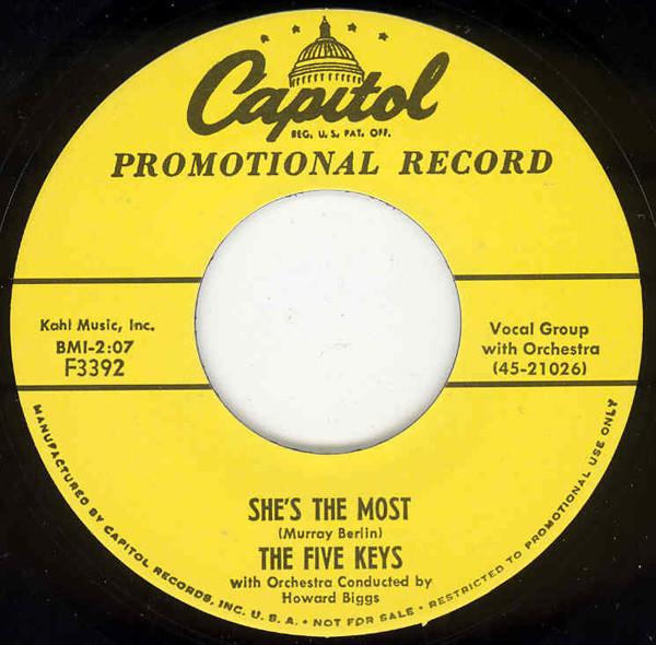 She's The Most - It's A Groove 7inch, 45rpm
